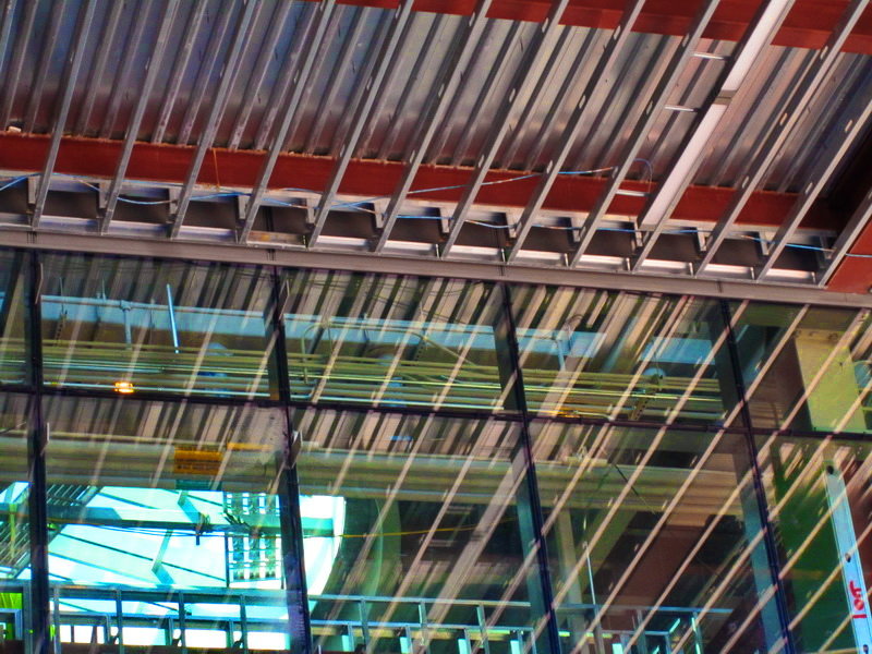 Interior Framing at Salem State College Library